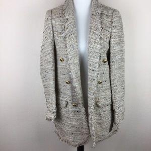 NWT Zara tweed blazer size XL